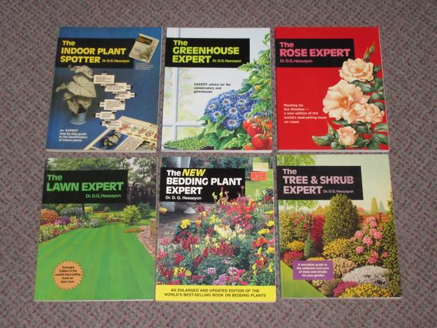 Gardening Expert Books - $1 each