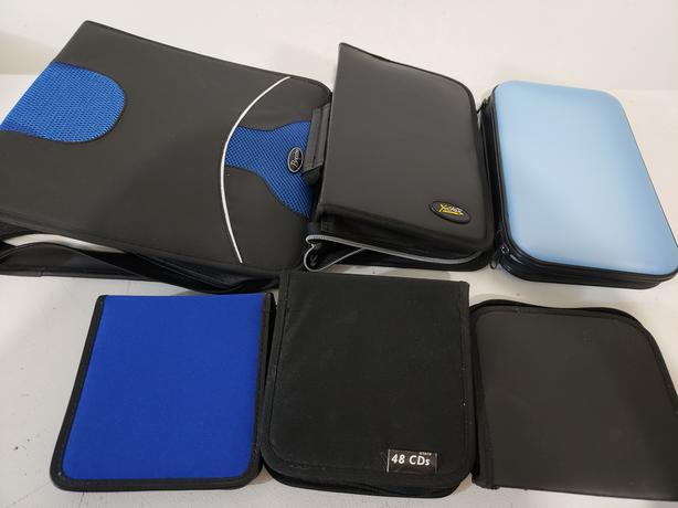Assorted Brand New and Used CD/DVD Storage Bags