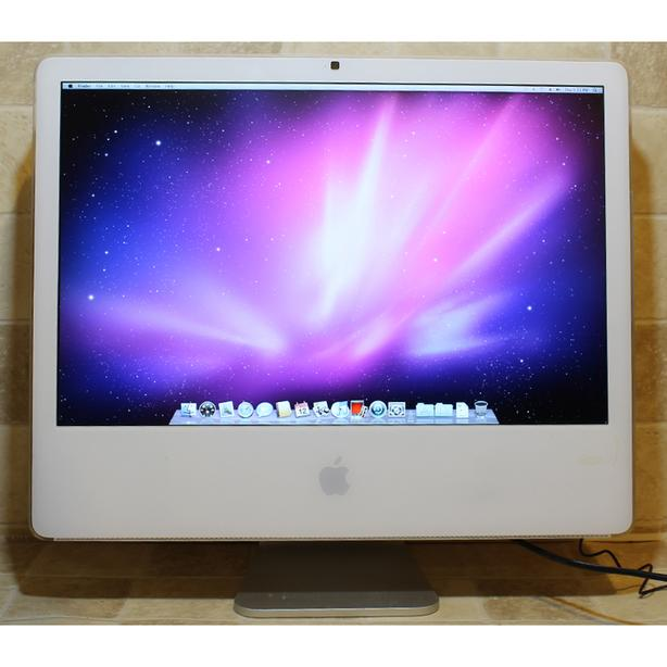 "Apple iMac AIO Computer A1207 Core2 Duo 20"" DVDRW 4GB RAM 160GB Webcam WiFi"