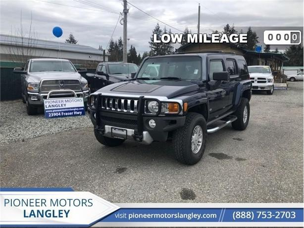 2008 Hummer H3 SUV  - Low Mileage