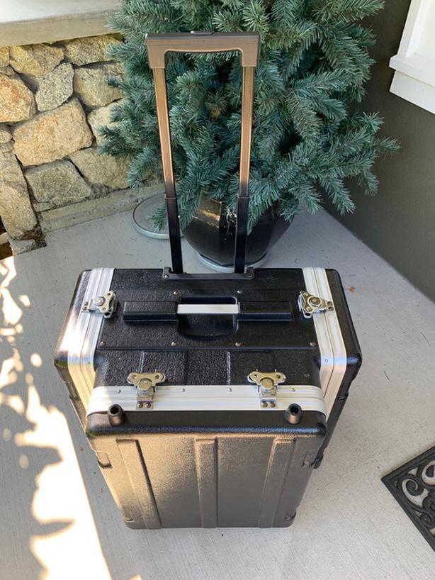 Rolling Gator ATA Laptop or Mixer Case Over 4U Audio Rack - NEAR MINT