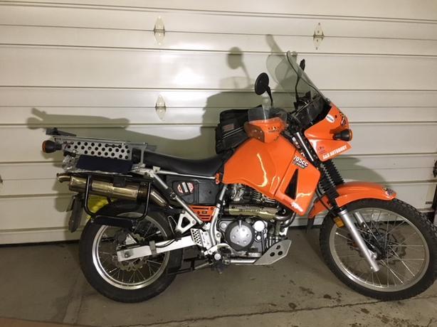 Kawasaki KLR 705 cc Adventure Tour Motorcycle (2002)
