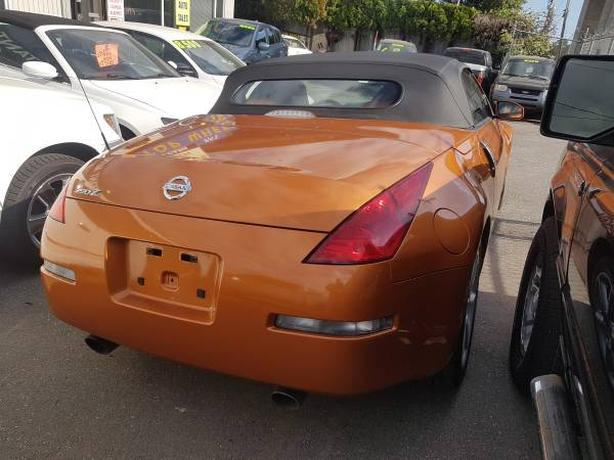2004 Nissan 350Z Convertible, 79Ks, 6 Speed, Bumper to Bumper Warranty