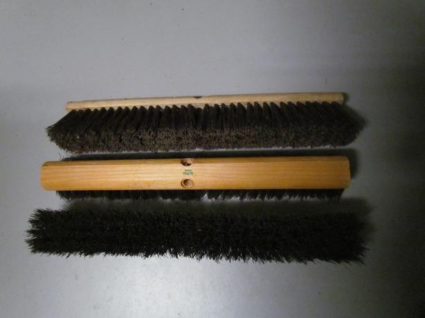 Bristle Broom Heads. 3 for $15.