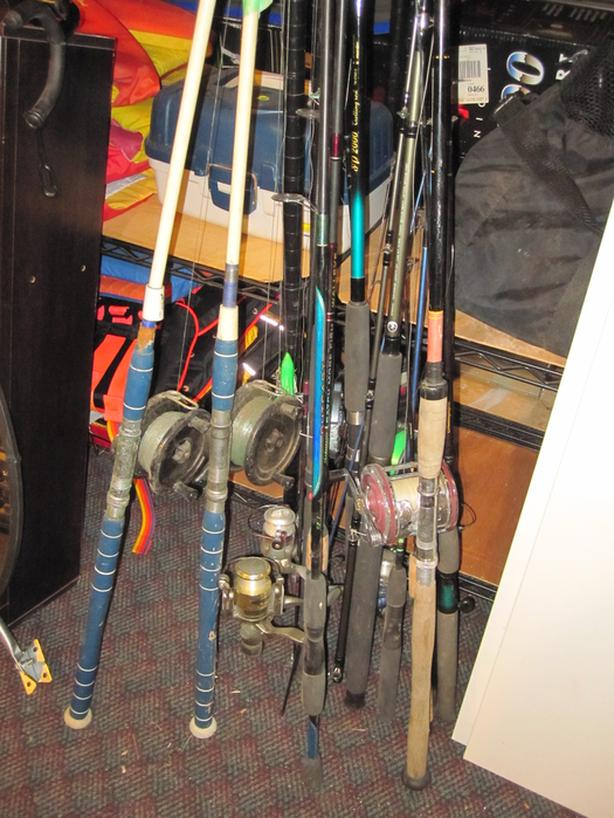 Fishing rods and reels Many to choose from. starting at $15