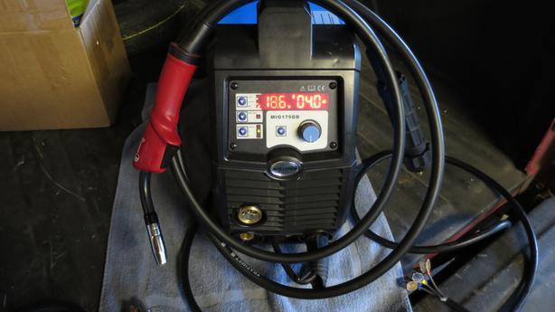 MIG Welder Inverter 175 AMP 220V DC MIG MAG ARC
