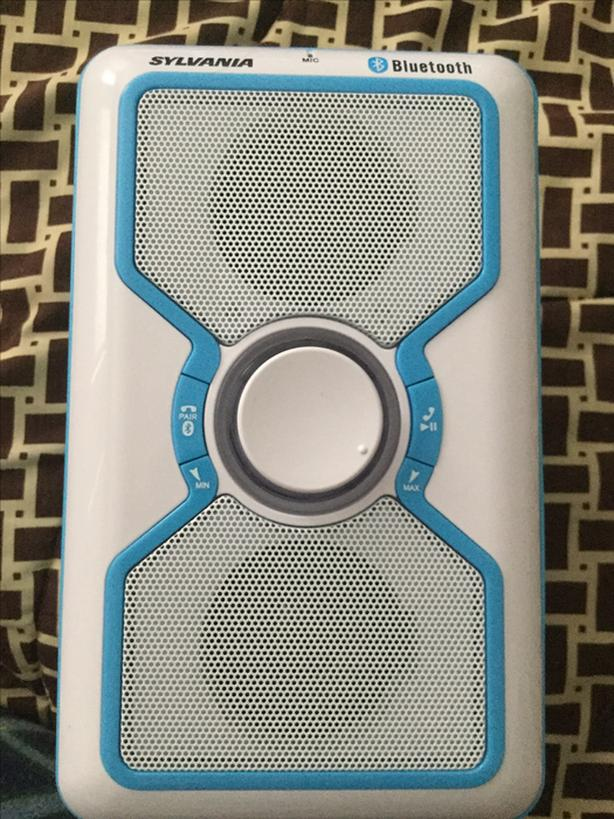 SYLVANIA Blue Bluetooth Speaker