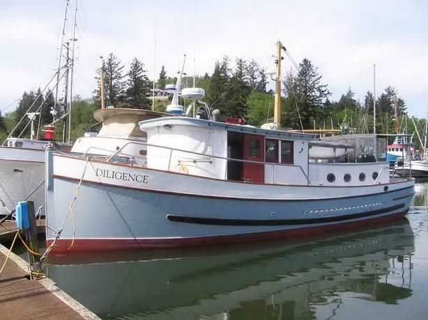 Wood Trawler Yacht For Sale - Diligence