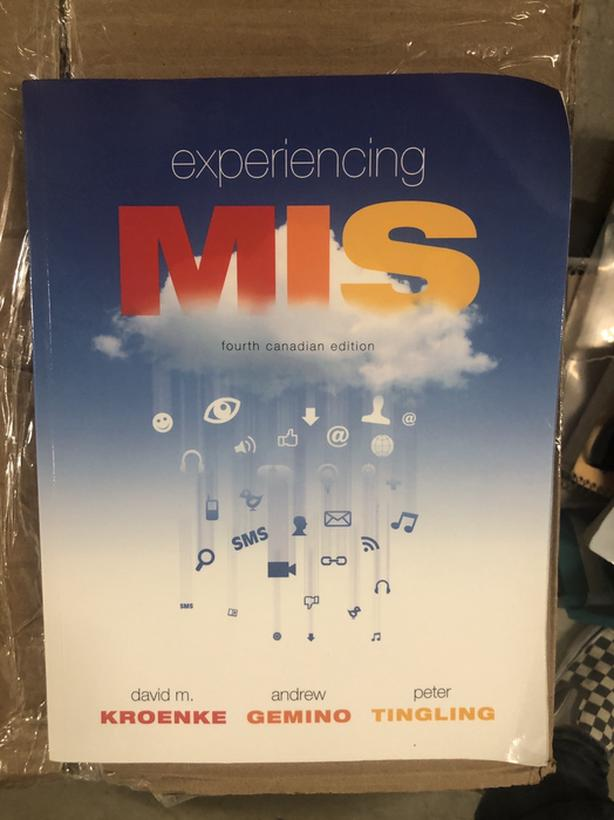 Experiencing MIS (Management Information Systems)