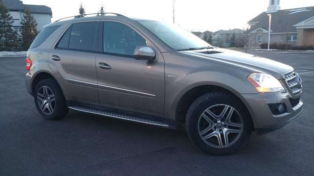 Mercedes ML320 Diesel AWD. Trade to Honda Odyssey