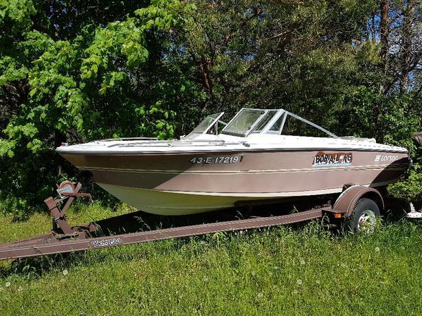1987 Larson Boat