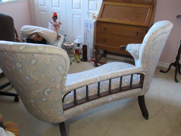 Rosewood Double Chair Back Settee