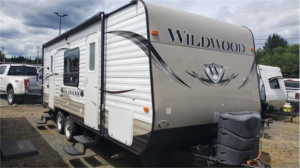 2014 Forest River Wildwood T23FBS