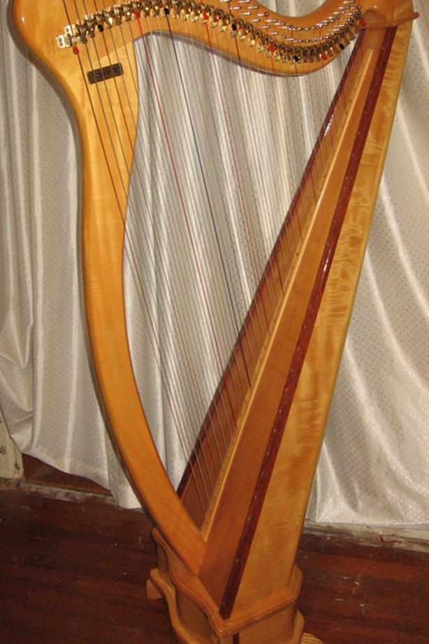 HARP  Aoyama 36 string Irish Harp   New Price $4,550.00
