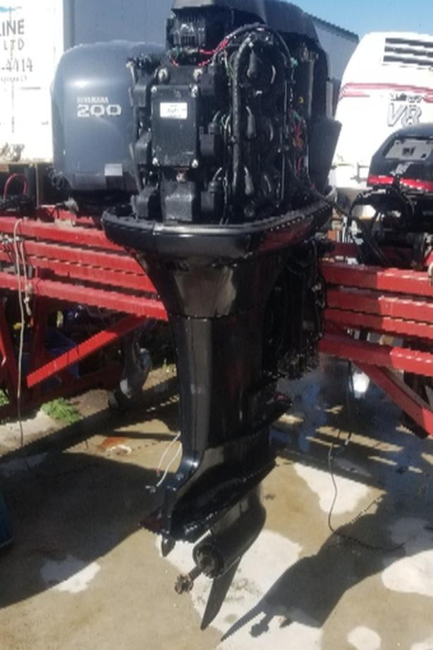 3 LITER 225 HP MERCURY EXLONG  OIL INJECTED RUNS GREAT