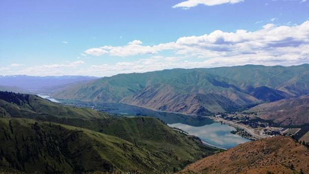 20.70 Ac. Parcel with Power plus Great Views of Columbia River