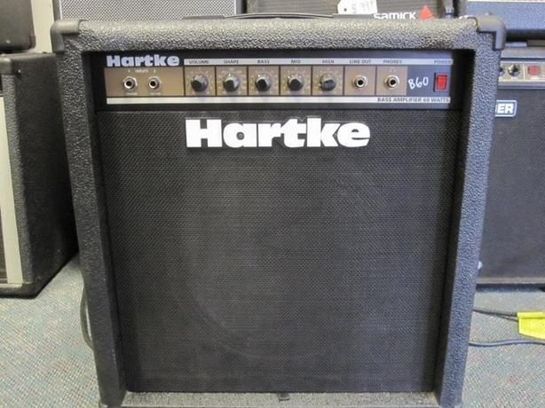 Hartke B60 bass combo