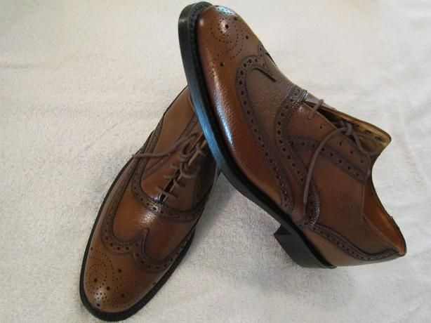 """""""Quality"""" Leather Shoes"""" """"New - boxed- never worn"""""""