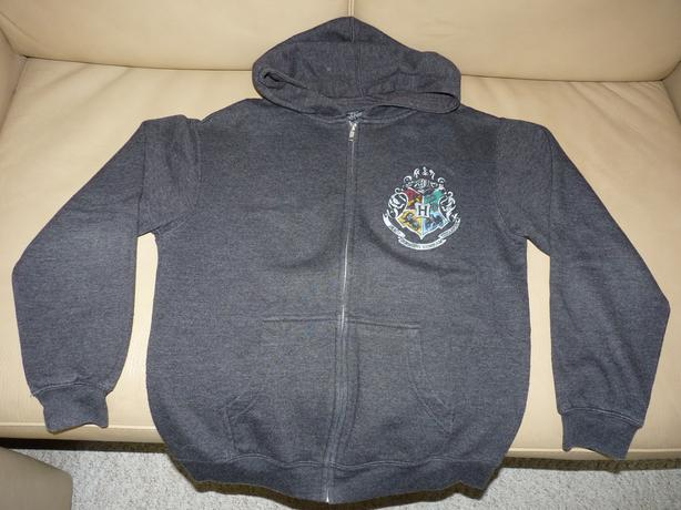 Authentic HARRY POTTER Full-Zip Fleece Hooded Jacket (Youth XL)