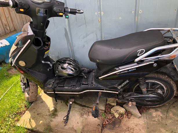 E-bike Daymak Chameleon 60V