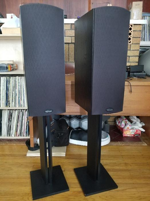 $175 · Paradigm Monitor 5 V4 Speakers With Stands