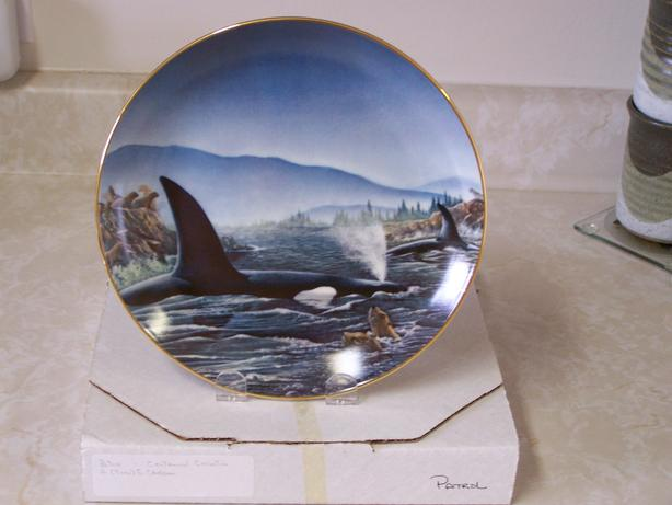 Decorative Plate - titled PATROL