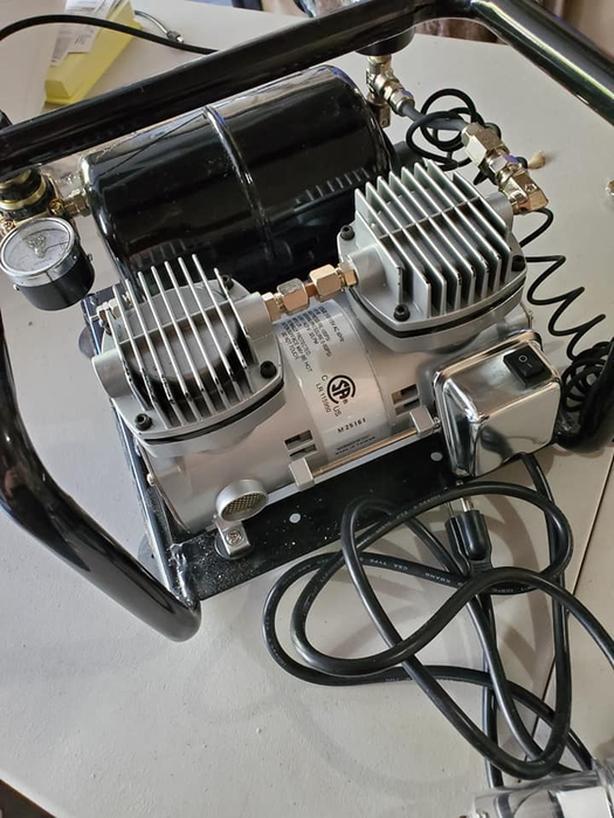 Stealth Mini Air Compressor