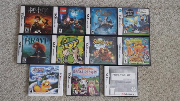  Log In needed $10 · NINTENDO DS / 3DS GAMES