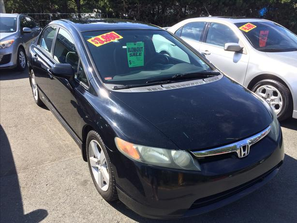 best deal 2006 honda civic 5 speed cold ac pw pl runs well