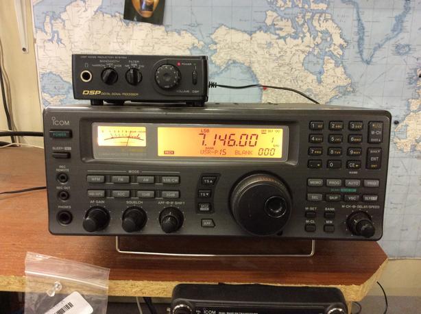 Icom R 8500 receiver HF,VHF,UHF,c/w DSP filter
