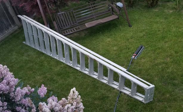 16 foot builders A frame ladder