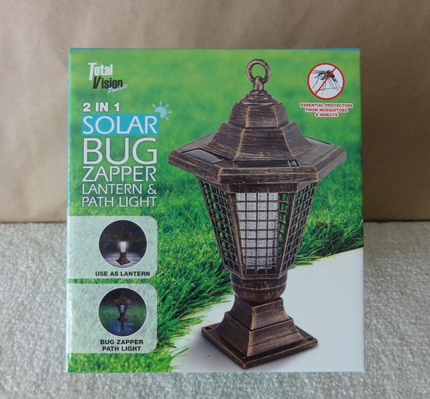 Solar Bug Zapper Lantern And Path Light Victoria City, Victoria