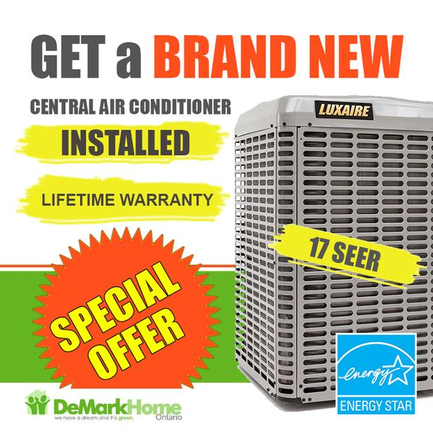 Central Air Conditioner - Furnace - Rent to Own - $0 Down - No Credit Check