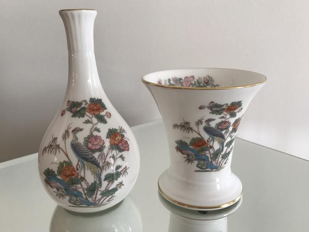 Pair of Wedgwood Bone China Vases
