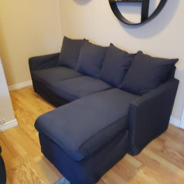 Terrific Log In Needed 275 Ikea Harnosand Sofa With Chaise Interior Design Ideas Jittwwsoteloinfo