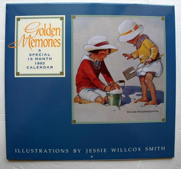 Jessie Willcox Smith Golden Memories 1993 Calendar Nice Images