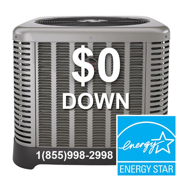 Air Conditioner Furnace Rent to Own - Free Upgrade - $0 Down