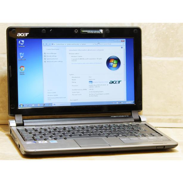 "Acer Aspire One D250 Netbook Atom 2GB RAM 160GB WiFi Webcam 10.1"" Windows 7"