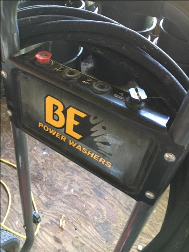 4200 lbs pressure washer & surface cleaner.