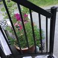 Deck railing pickets