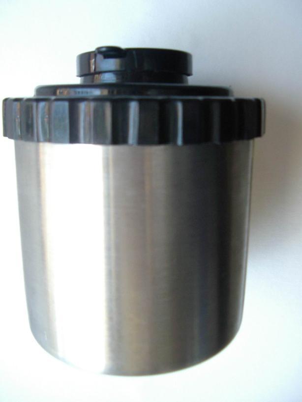 Stainless slides developing jar