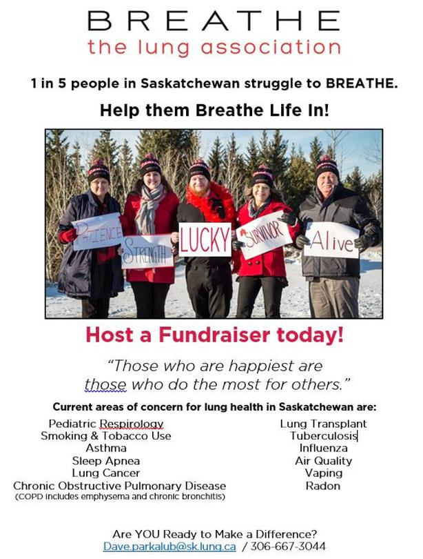 BREATHER LIFE IN Fundraiser!