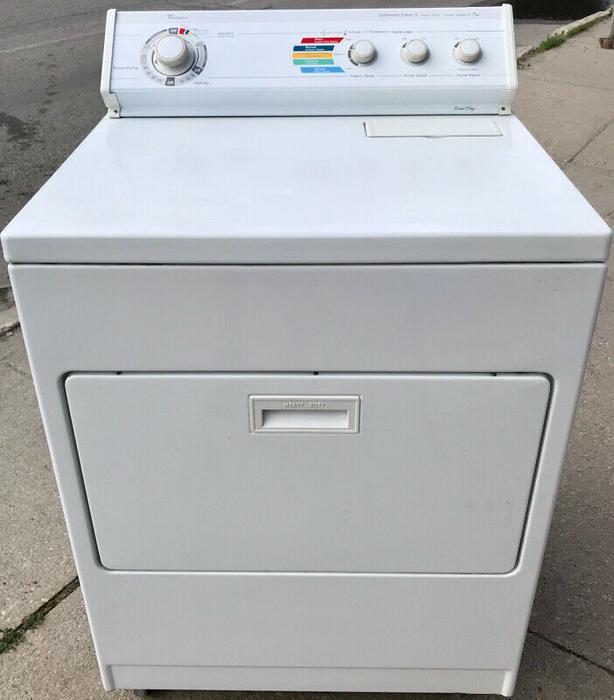 Whirlpool HD Dryer