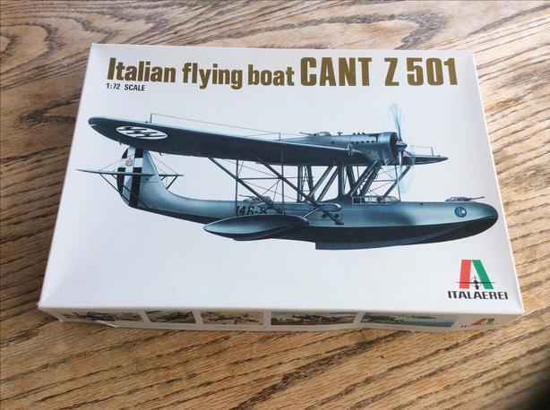 ITALAERIE 1/72 scale Italian Flying Boat
