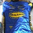 Biking shorts and shirt matching set
