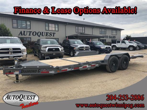 "2020 Diamond C 20' x 82"" Manual Hydraulic Tilt Flatdeck - 14 900 lbs"