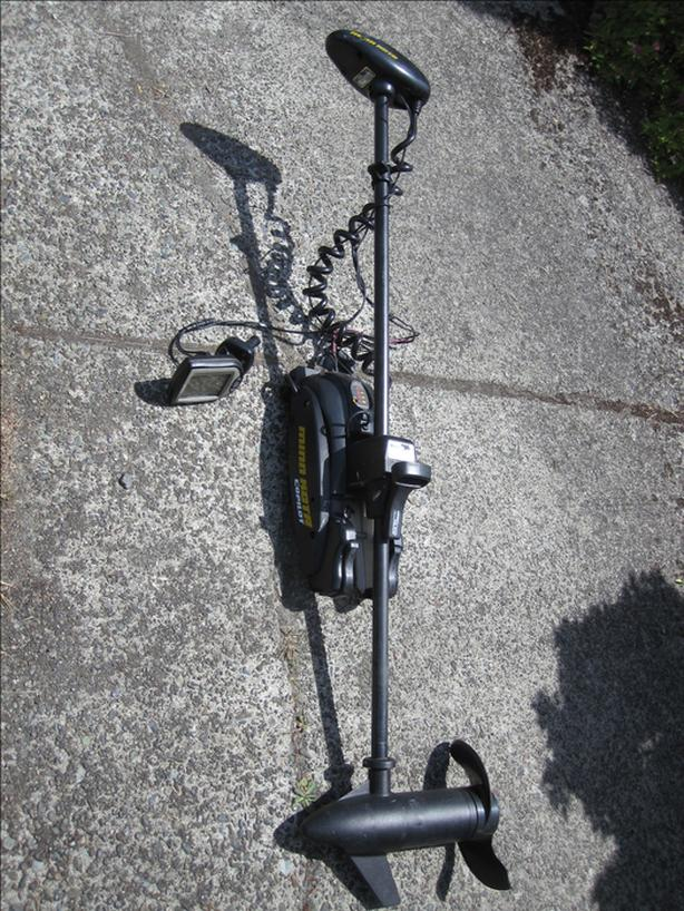 Minn Kota deck mount Electric trolling motor