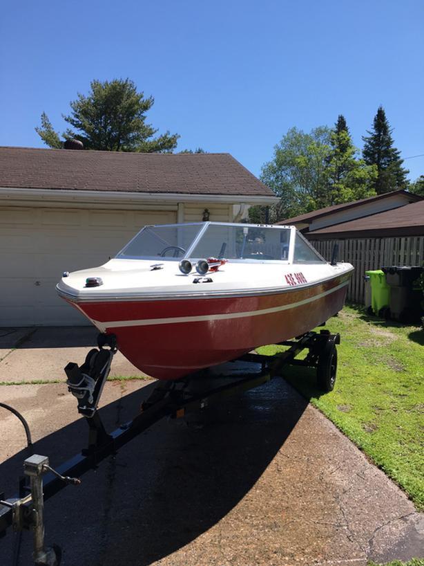 1979 Fire Fighter Draw Boat -- $2500 O.B.O