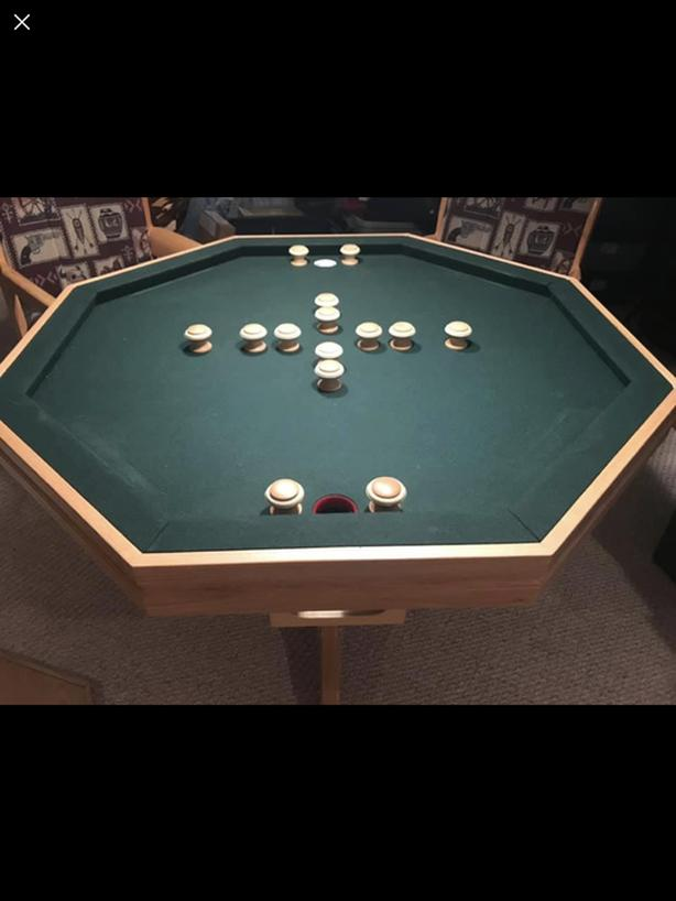 Games table with 4 chairs