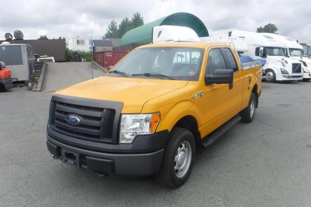 2011 Ford F 150 Xl Supercab 6 5 Ft Bed 4wd Dual Fuel With Tonneau